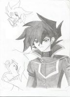 Three Faces of Chazz by XCrazy-ShunshineX