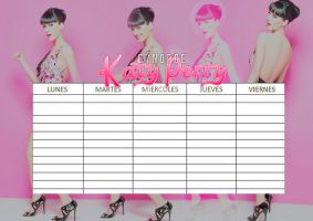 Horario Katy Perry #01 by Norgelys