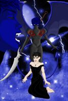 Dual images of Demonia by AlmightyOracle