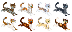 Adoptables by SpottedAdopts