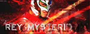 Rey Mysterio Sign by Rey28
