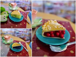 Littlest Sweet Shop pies by LittlestSweetShop