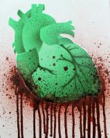 Zombie Heart by darcydoll