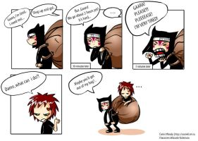 About Kankuro and Gaara by noody666