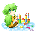 N's mini Castle by firehorse6