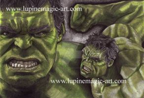 Hulk - colour by lupinemagic