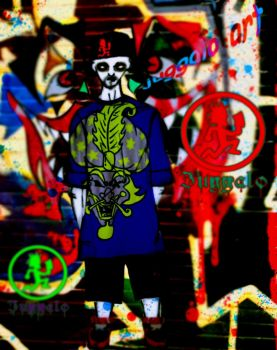 my Juggalo art by shamelesslip