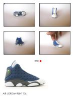 Air Jordan 13 Miniature by tharealdada