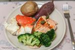Seafood dinner by patchow