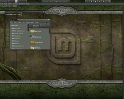 LM-Club Theme for Gnome shell 3.4 by cbowman57
