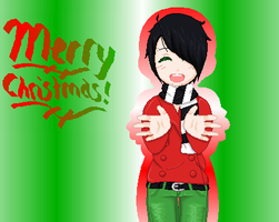 Merry Christmas 8D by xUzumakiRoxasx