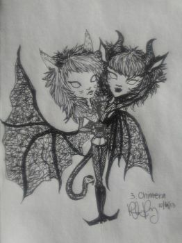50 Fantasy Challenge - #3 Chimera - by AngelFromTheAshes