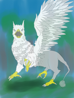 Gryphon(wip) by kang2ting