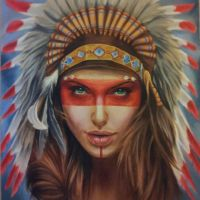 Native American by sandmannder3