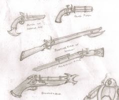 Dwarven Fire Arms by Anararion