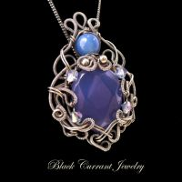Prinsess in Blue by blackcurrantjewelry