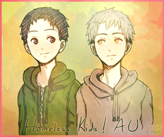 Homeless Kids!AU by Jakufuu