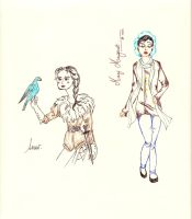 Once Upon a Time - Snow and MaryMargareth by Cassiopeeh