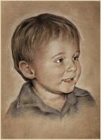 Wee Jacks Portrait by garybonner