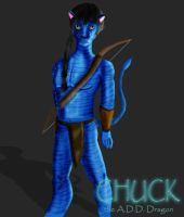 Avatar-ified - Colored by Chuck-the-ADDragon