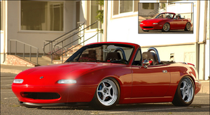Mazda Miata MX5 by w00tn3ss