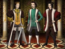 The Three Royal Sons Of York by CookieCat45
