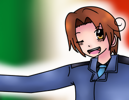 Italy shaded by cloverdacat