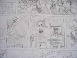 School for Scandal Close-up 12 by Cherieosaurus