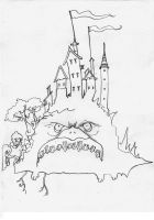 THE ANGRY CASTLE by BLUEHAWK-55