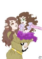 Mother and Daughter by mimitaradict