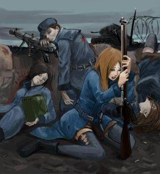 foxhole by weiyang