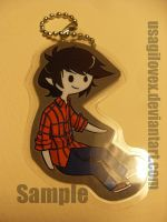 Marshall Lee Keychain by UsagiLovex