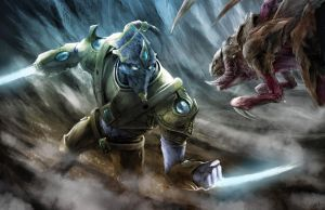 Protoss vs Zergling by JujuFei