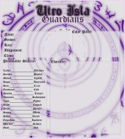 Character Sheet for Utro Isla- Guardians by Kach-22