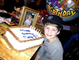 About to cut the cake by MattyBRaps