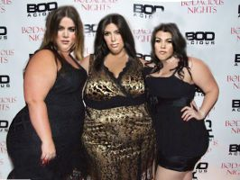 Kardashians WG NEW LOOK BBW by xelavi0