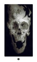 Fragmented skull by bradwright