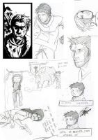 Uncharted 2 Sketches of Doom by Maliris-San