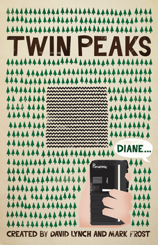 Twin Peaks Poster by ChrisMMiller