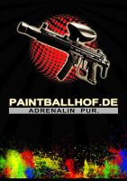 Paintballhof Plakat v2 by MDEVIANCE