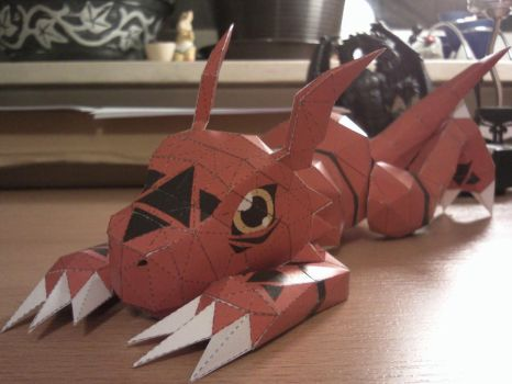 Guilmon by Destro2k