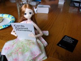 Game Day: Cards Against Humanity... doll-manity? by HoshiChiri