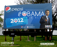 Coporate Puppets - Obama by DigitallyDestined