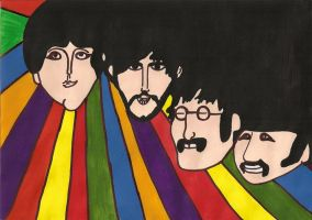 The Beatles by SneadyPop