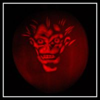 Ryuk Pumpkin by moonphantom