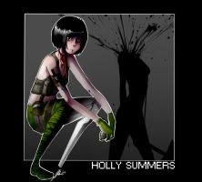 No More Heroes: Holly Summers by cyanatar