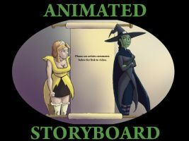 Defying Gravity Storyboard by Etherstar