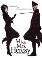 Mr and Mrs Heresy by yuikami-da