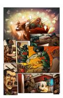 Juda Fist page 3 finished colors. by MarkCDudley