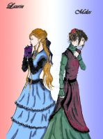 'wife and lover' colored by headraline